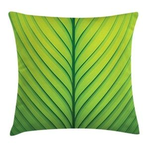 Pillow Case Green Leaf Close Up Cover No Insert